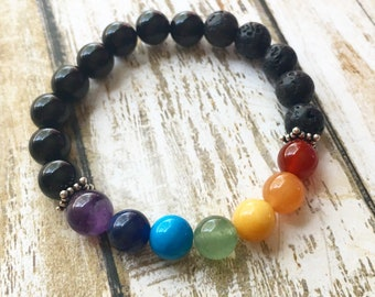 20% OFF Chakra Diffuser Bracelet with Onyx