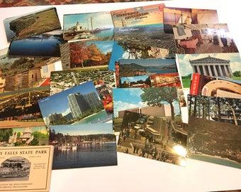 850 Vintage Postcard Lot