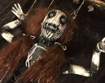 "Creepy Halloween Prop ""Pollyanne the Doll"""