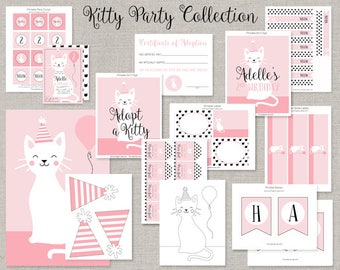 Kitty Cat Party Collection - DIY