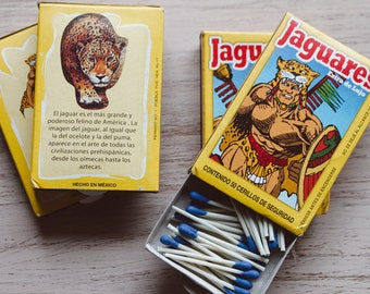 Jaguares Matches - Made in Mexico - Add on item only!