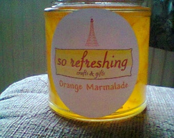 Homemade Orange Marmalade (8oz/199g Jars)