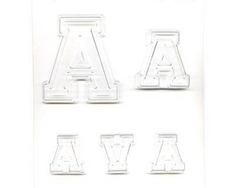 "Collegiate Letter ""A"" Chocolate Candy Mold"