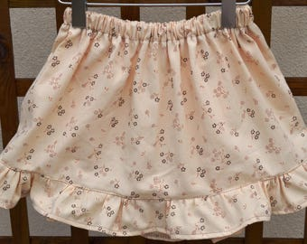 skirt elastic T 4 years old girl