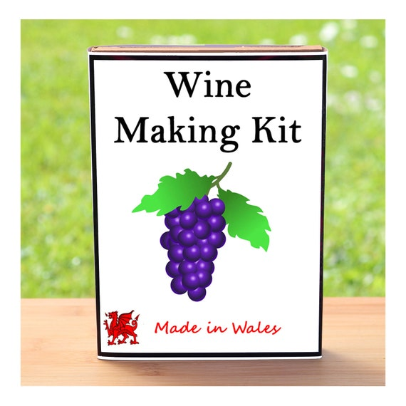 Wine Lover Gift - Hedgerow Country Wine Making Kit - Make Your Own Wine