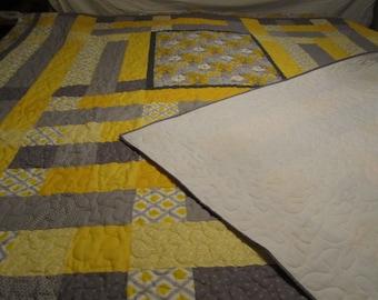 Yellow flower Quilt
