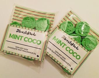 Mint Coco Wax Tarts/Melts