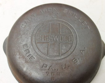 Griswold #3 Cast Iron Pan