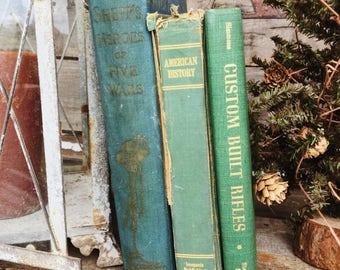 Old Books - 1899 Shepp's War Book, Custom Rifles & American History FREE SHIPPING