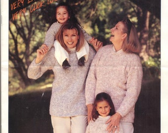 Leaflet Cleckeaton 266 Womens and Childrens Knitting Patterns
