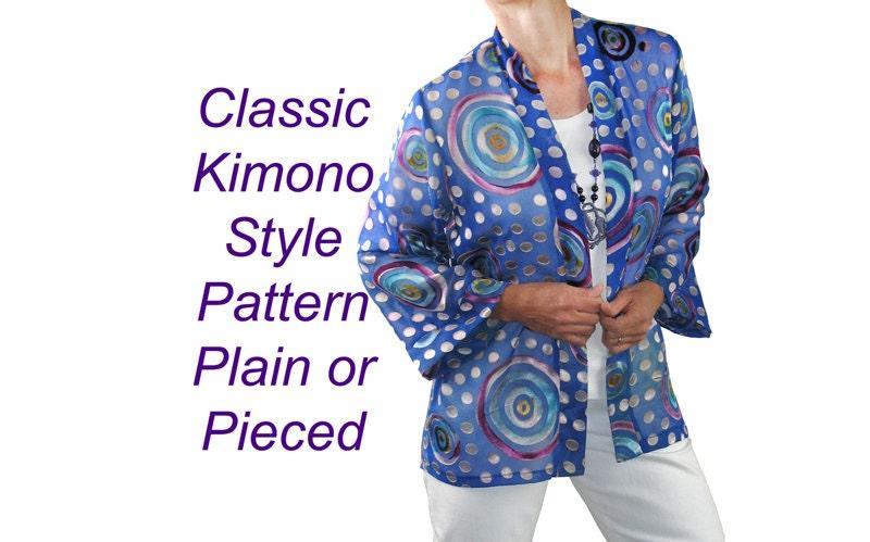 Pagoda Jacket Pattern Haori or Kimono Sewing Pattern BSS160