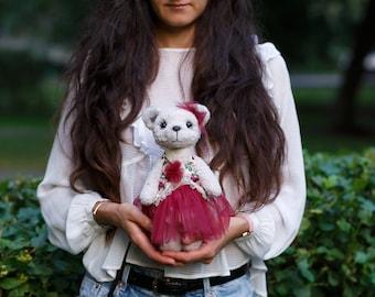 25% off SALE Artist collectible Teddy bear Milana(OOAK)