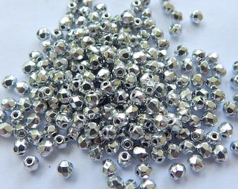 Firepolish 3mm Czech Glass Full Labrador (100 beads)
