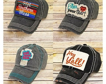 Hot Southern Mess Caps