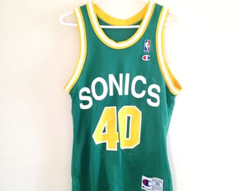 Seattle Supersonics Champion Vintage Basketball Jersey