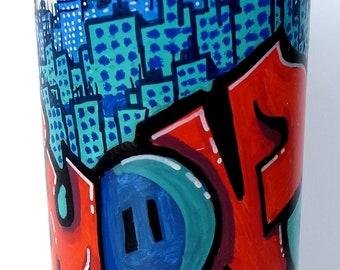 """Spray paint marker ingericht: """"Lyon"""""""