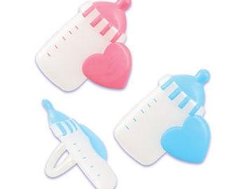 BABY BOTTLE Cupcake Rings