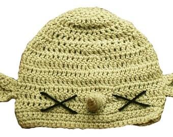 Hand Crocheted Goblin Hat  HH192