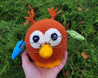 Eye Glasses Holder, Christmas gift, Gift for Owls lover, Crochet Owl, Useful Owl, Funny Gifts, Glasses holder, Nightstand Accessorie