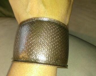 pure copper free size cuff bracelet