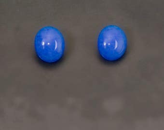 Periwinkle blue earrings