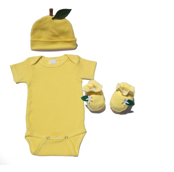 sc 1 st  Etsy & Lemon Baby One Piece Lemon Costume Baby Yellow Clothes