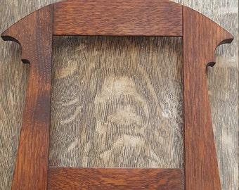 Mission / Craftsman  Style Tile Frame