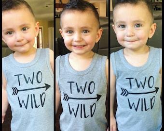 Two Wild, Two Wild tank top, two wild shirt