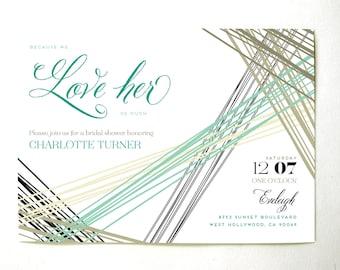 Parker Bridal Shower Invitation
