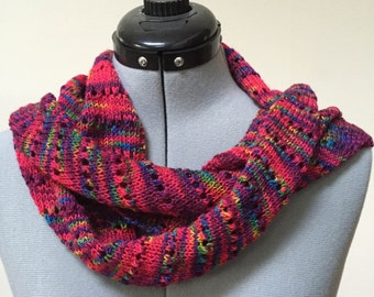 Multicolor wrap - red/blue/green/turquoise