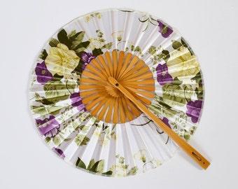 round bamboo fan, bamboo accessories, bamboo, hand fan