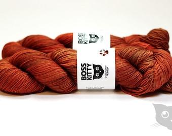 Balrog - Hand Dyed/Superwash Merino/Cat's Cradle Undertone