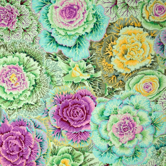 BRASSICA MOSS PJ51  Philip Jacobs Kaffe Fassett  Sold in 1/2 yd increments
