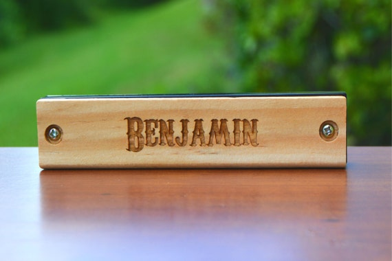 Personalized Kids Gift Engraved Harmonica Personalized Kids