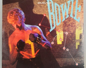 David Bowie - Let's Dance Album Columbia Records 1983 Original Vintage Vinyl Record LP
