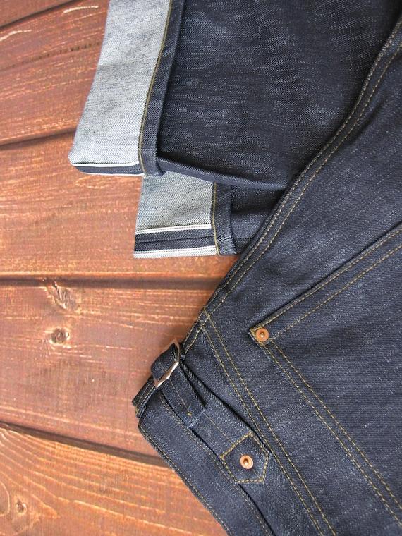 lutece mfg co quartermaster denim jeans 30 40s style rockabilly us army - Natrliche Hickory Holzbden