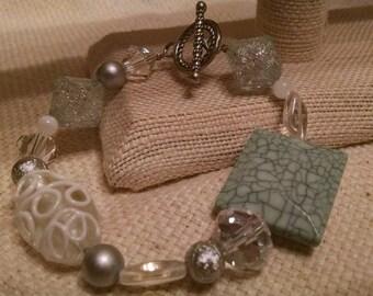 Mint Crystal bracelet