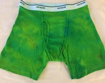 Tie Dye Boxer Briefs ADULT XL