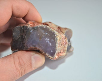 170 Gr Chalcedony Purple Natural Rough