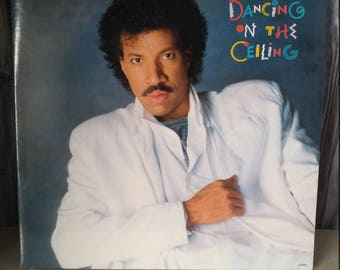 Lionel Richie Vinyl Record, Dancing on the Ceiling, Vintage Vinyl Record, Lionel Richie