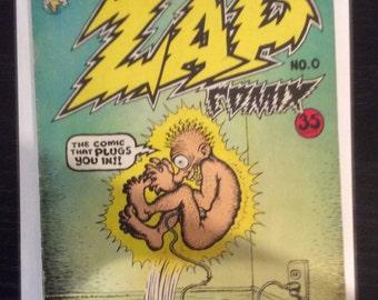 Original Newsstand Zap Comix Nos. 0-5