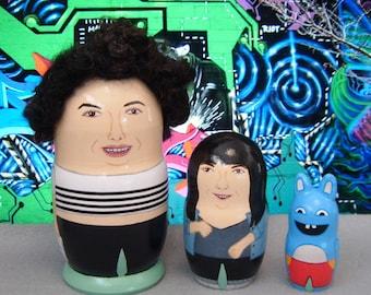 Broad City Matryoshka Dolls