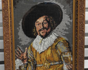 Gobelinstickerein - merchant - after designs by Rembrandt