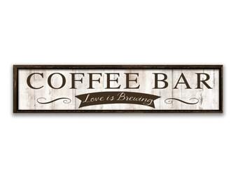 Coffee And Tea Sign Wedding Printables Kitchen Wall Decor
