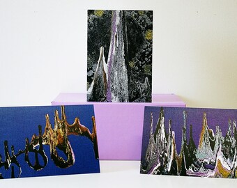 Greeting Cards - Spiritual Greeting Cards - Blank Greeting Cards - Original Art Greeting Cards - Graphic Art Greeting Cards