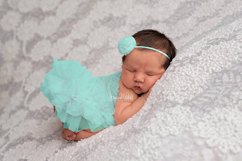 Teal Newborn Tutu Dress Photography Props Newborn