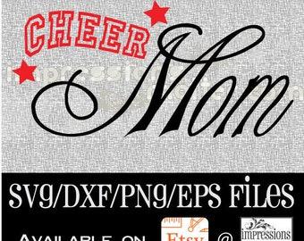 Cheer Mom - Digital Art File
