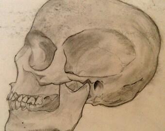 Skull Giclee Art Print