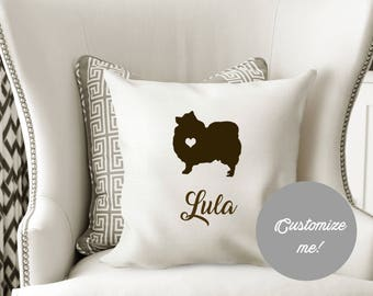 Personalized POMERANIAN pillow Cover