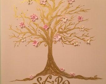 Tree of Life-  Acrylic Canvas Painting